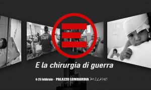 MILANO. EMERGENCY E LA CHIRURGIA DI GUERRA AL PALAZZO DELLA REGIONE