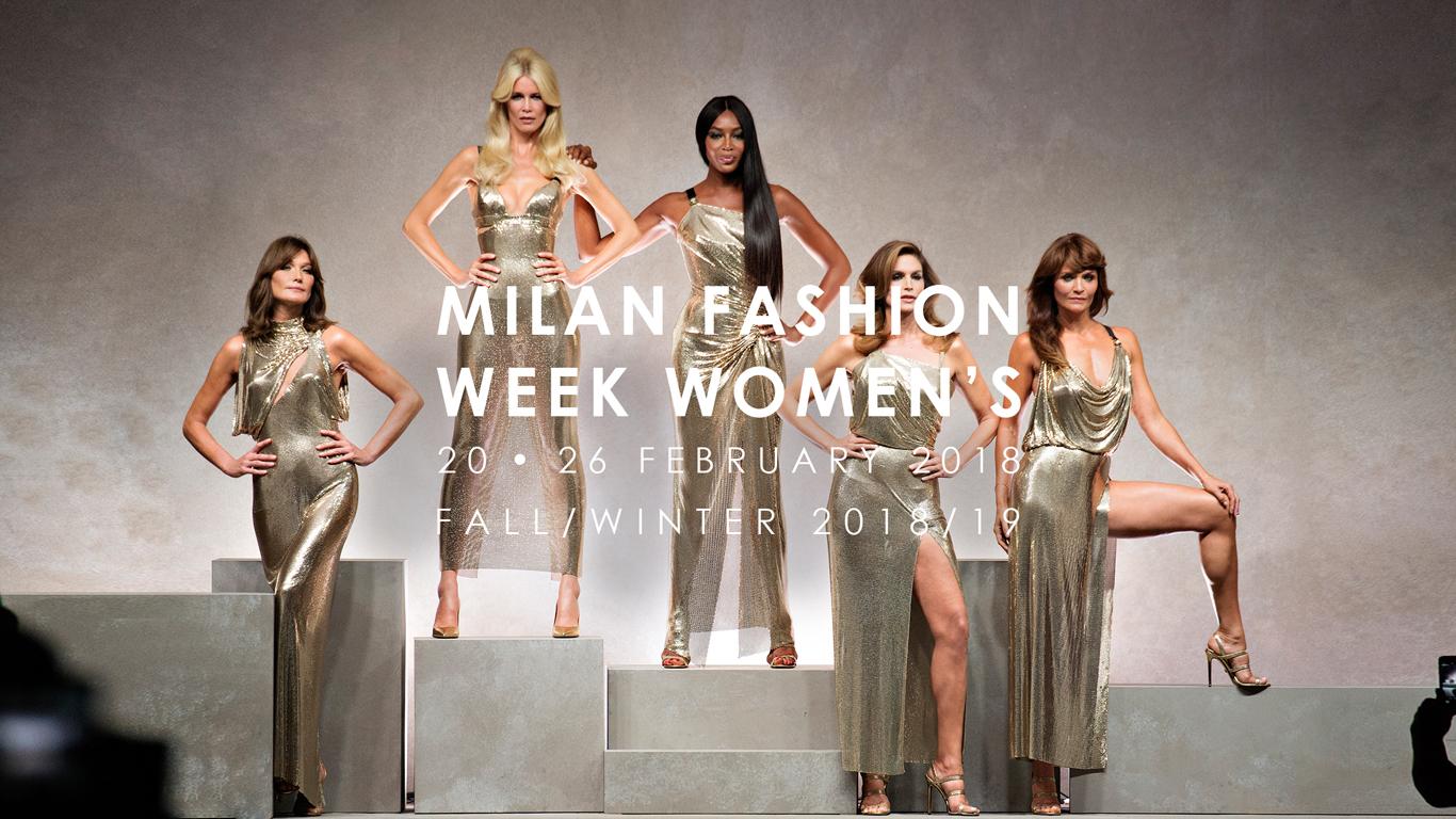 Calendario Sfilate Milano.Milano Moda Donna Ecco Il Calendario Sfilate Febbraio 2018