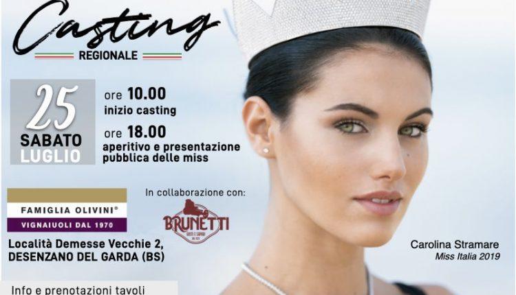 CASTING MISS ITALIA LOMBARDIA 25 luglio desenzano