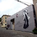 Brescia, grande opera d'arte di resistenza al coroa virus