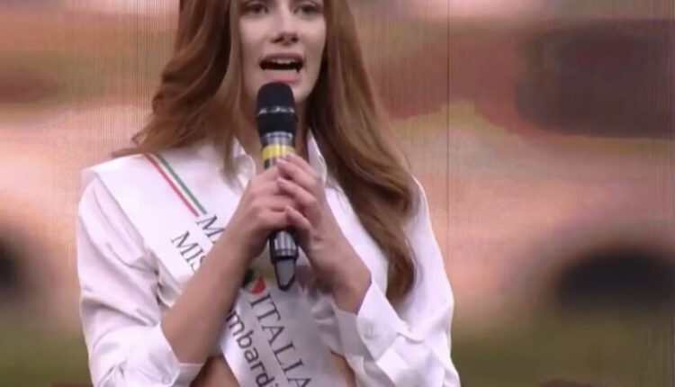 Francesca Rabbolini -Miss Lombardia