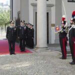 "Milano, Visita del Comandante Generale dell'Arma dei Carabinieri al Comando Interregionale ""Pastrengo""."