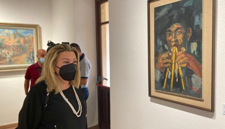 """Oristano. """"L'origine è la meta"""". Inaugurata la mostra dedicata a Carlo Contini"""